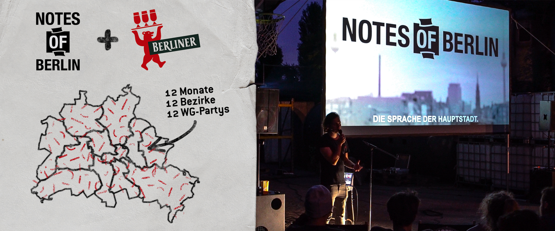 Berliner Pilsner bringt Notes of Berlin auf deine WG-Party